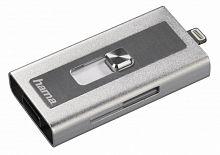 Устройство чтения карт памяти USB2.0/Lightning Hama MoveData серебристый