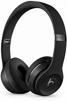 Гарнитура накладные Beats Solo3 1.36м черный матовый беспроводные bluetooth (оголовье)