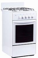 Плита Газовая Flama RG 24027 W белый реш.эмаль