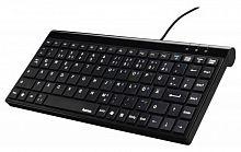 Клавиатура Hama R1050449 черный USB slim для ноутбука