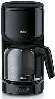 Кофеварка капельная Braun KF3120BK 1000Вт черный