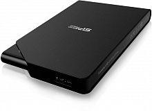 """Жесткий диск Silicon Power USB 3.0 1Tb SP010TBPHDS03S3K S03 Stream 2.5"""" черный"""