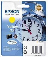 Картридж струйный Epson T2702 C13T27044022 желтый (300стр.) (3.6мл) для Epson WF7110/7610/7620