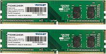 Память DDR4 2x4Gb 2400MHz Patriot PSD48G2400K RTL PC4-19200 CL17 DIMM 288-pin 1.2В