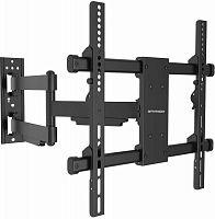 """Кронштейн для телевизора Arm Media PARAMOUNT-40 черный 26""""-65"""" макс.50кг настенный поворот и наклон"""