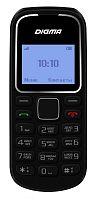 """Мобильный телефон Digma Linx A105 2G 32Mb черный моноблок 1Sim 1.44"""" 98x68 GSM900/1800"""