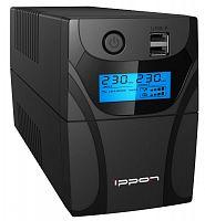 Источник бесперебойного питания Ippon Back Power Pro II Euro 650 360Вт 650ВА черный