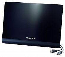 Антенна телевизионная Thomson ANT1425 50дБ активная черный каб.:1.5м