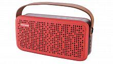 Колонка порт. Telefunken TF-PS1230B красный/коричневый 8W 2.0 BT/3.5Jack/USB 10м 4000mAh (TF-PS1230B(КРАСНЫЙ))