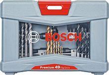 Набор бит Bosch Premium Set - 49 (2608P00233) (49пред.) для шуруповертов