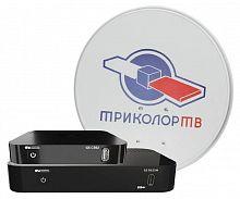 """Комплект спутникового телевидения Триколор GS B532M + GS C592 """"Сибирь"""" (комплект на 2 ТВ) черный"""