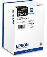 Картридж струйный Epson T8651 C13T865140 черный (10000стр.) (221мл) для Epson WF5190/5690