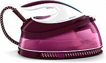 Паровая станция Philips PerfectCare Compact GC7808/40 2400Вт белый/фиолетовый