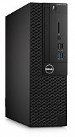ПК Dell Optiplex 3050 SFF i5 6500 (3.2)/8Gb/SSD256Gb/HDG530/DVDRW/Linux Ubuntu/Eth/клавиатура/мышь/черный