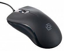 Мышь Oklick 375M черный оптическая (1000dpi) USB (2but)