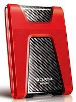 """Жесткий диск A-Data USB 3.0 2Tb AHD650-2TU31-CRD HD650 DashDrive Durable 2.5"""" красный"""