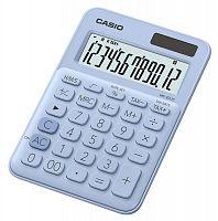 Калькулятор настольный Casio MS-20UC-LB-S-EC светло-голубой 12-разр.