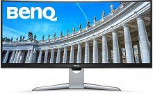 "Монитор Benq 35"" EX3501R черный VA LED 12ms 21:9 HDMI матовая HAS 20000000:1 300cd 178гр/178гр 3440x1440 DisplayPort Ultra HD 2K (1440p) USB 10.4кг"