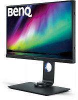 "Монитор Benq 27"" SW271 черный IPS LED 5ms 16:9 HDMI матовая HAS Pivot 20000000:1 350cd 178гр/178гр 3840x2160 DisplayPort Ultra HD USB 10.5кг"