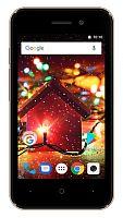 "Смартфон Digma Q401 3G HIT 8Gb 1Gb золотистый моноблок 3G 2Sim 4"" 480x800 Android 7.0 2Mpix WiFi GSM900/1800 GSM1900 TouchSc MP3 FM microSD max32Gb"