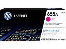 Картридж лазерный HP 655A CF453A пурпурный (10500стр.) для HP M652/653/M681/682