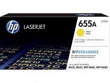 Картридж лазерный HP 655A CF452A желтый (10500стр.) для HP M652/653/M681/682