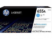 Картридж лазерный HP 655A CF451A голубой (10500стр.) для HP M652/653/M681/682
