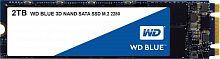 Накопитель SSD WD Original SATA III 2Tb WDS200T2B0B Blue M.2 2280