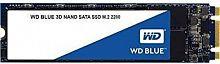 Накопитель SSD WD Original SATA III 500Gb WDS500G2B0B Blue M.2 2280