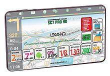 """Навигатор Автомобильный GPS Lexand SC 7 Pro HD 7"""" 1024x600 8Gb microSD Bluetooth черный Прогород"""