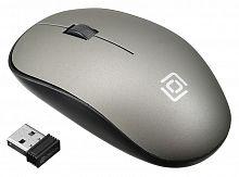 Мышь Оклик 515MW черный/серый оптическая (1200dpi) беспроводная USB (2but)