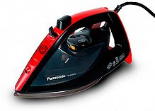 Утюг Panasonic NI-WT960RTW 2600Вт черный/красный