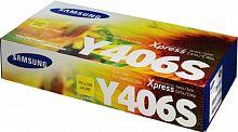 Картридж лазерный Samsung CLT-Y406S SU464A желтый (1000стр.) для Samsung CLP-360/365/CLX-3300/3305