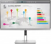 "Монитор HP 27"" EliteDisplay E273q серебристый IPS LED 16:9 HDMI матовая HAS Pivot 1000:1 350cd 178гр/178гр 2560x1440 D-Sub DisplayPort QHD USB 7.4кг"