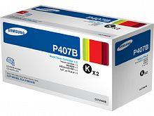 Картридж лазерный Samsung CLT-P407B SU385A черный x2упак. (1500стр.) для Samsung CLP-320/325/CLX-3185