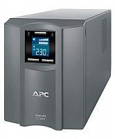 Источник бесперебойного питания APC Smart-UPS C SMC1000I-RS 600Вт 1000ВА серый