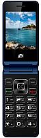 "Мобильный телефон ARK V1 синий раскладной 2Sim 2.4"" 240x320 2Mpix GSM900/1800 MP3 FM microSD max32Gb"