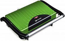 Сэндвичница Kitfort KT-1609-3 Panini Maker 640Вт зеленый/черный