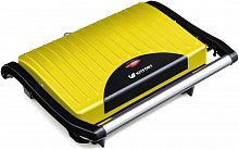 Сэндвичница Kitfort KT-1609-2 Panini Maker 640Вт желтый/черный