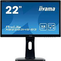 "Монитор Iiyama 21.5"" ProLite XB2283HS-B3 черный VA LED 4ms 16:9 HDMI M/M матовая HAS Pivot 250cd 178гр/178гр 1920x1080 D-Sub DisplayPort FHD 4.8кг"