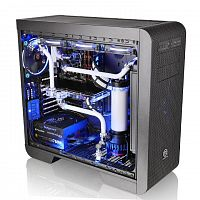 Корпус Thermaltake Core V51 TG черный без БП ATX 6x120mm 5x140mm 3x200mm 2xUSB3.0 audio bott PSU