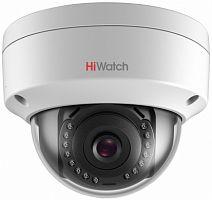 Видеокамера IP Hikvision HiWatch DS-I202 (С) 4-4мм цветная корп.:белый