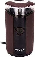 Кофемолка Supra CGS-311 150Вт сист.помол.:ротац.нож вместим.:40гр коричневый
