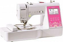 Швейно-вышивальная машина Brother M270 белый/розовый