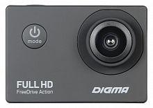 Видеорегистратор Digma FreeDrive Action Full HD черный 1.2Mpix 1080x1920 1080p 140гр.