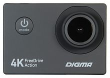Видеорегистратор Digma FreeDrive Action 4K черный 8Mpix 2160x3840 2160p 140гр.