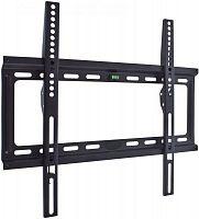 """Кронштейн для телевизора Kromax IDEAL-3 черный 22""""-65"""" макс.50кг настенный фиксированный"""