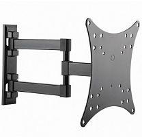 """Кронштейн для телевизора Ultramounts UM 867 черный 23""""-42"""" макс.20кг настенный поворот и наклон"""