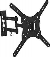 """Кронштейн для телевизора Ultramounts UM 870 черный 23""""-55"""" макс.30кг настенный поворот и наклон"""