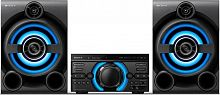 Минисистема Sony MHC-M60D черный 290Вт/CD/CDRW/DVD/DVDRW/FM/USB/BT